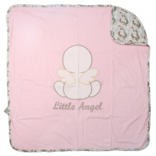 Cribcot Travel Blanket - Little Baby Angel Pink