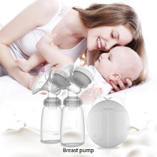 [OUTAD] Powerful Automatic Free Breast Pump Nipple Suction Electric White