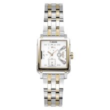 Expedition E 6695 BF BTGSL Ladies Beige Dial Dual Tone Stainless Steel Strap [EXF-6695-BFBTGSL]