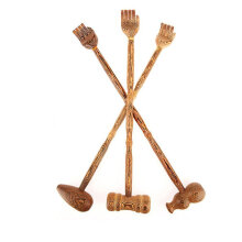 Wooden Back Scratcher Wood Back Scraper Massager Backscratcher Body Massager