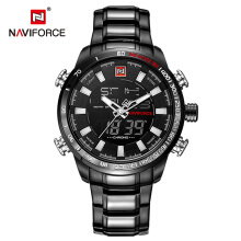 PEKY NAVIFORCE Mens Quartz Analog Watch Fashion Sport Digital Waterproof Male Watches