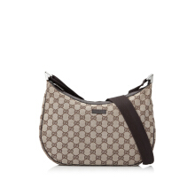 Pre-Owned Gucci GG Canvas Sling Bag Shoulder