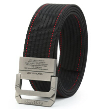 AWMEINIU Original fashion nylon canvas men's double belt