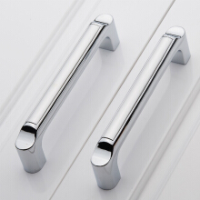 Yuhuaze simple handle drawer dark handle wardrobe cabinet door handle handle door handle single only 64 hole pitch