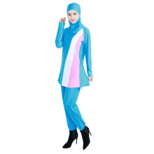 COZIME  Muslim Outerwear Soft  Breathable for Women Light Blue S