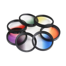 Mobile Phone Lens 52Mm Gradient Filter Lens E-jingtou008