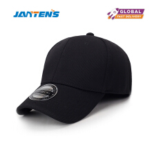 Jantens high quality fashion baseball cap women youth hip hop cap #B92 Black