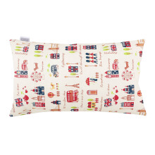 JOYLIVING Cushion Rectangular London Bridge 30 cm x 50 cm - Red
