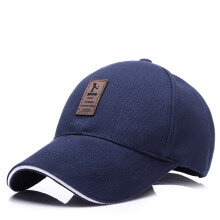 Beautiful casual cotton visor comfortable and breathable men's baseball cap