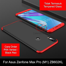 Calandiva Case Asus Zenfone Max Pro ( M1 ) ZB602KL (5.99 Inch) Casing Premium Front Back 360 Degree Full Protection