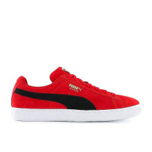 PUMA Suede Classic Ribbon  - Red-Black