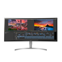 LG 38WK95C 38 inch 21:9 UltraWide, Free Sync, WQHD+, HDR 10, IPS Curved LED Monitor (HDMI, Display Port, USB Type C)