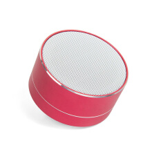 Keymao Portable Bluetooth Wireless Speaker with MIC Handfree Call LED Light TF Card CNC Red