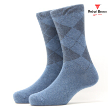 ROBERT BROWN Kaos Kaki Kasual Pria (RBCLS) 7847 - Biru Blue