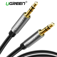 UGREEN AUX 3.5mm Stereo Auxiliary Cable with Slim Aluminum Case for Your iPhone, iPad or Smartphones, Tablets, Media Players