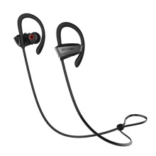 BlitzWolf® BW-BTS3 Sport Adjustable Earhooks Bluetooth Earphone IPX5 Waterproof Heavy Bass Headphone  -Black
