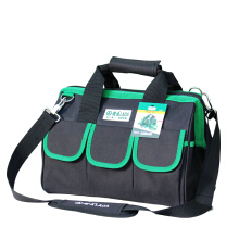 Old A (LAOA) green black Oxford cloth multi-purpose tool bag thickening tool bag storage bag repair kit electrician 14 inch LA212819