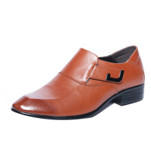 SiYing Business men's leather shoes men's dress pointed shoes