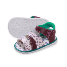 LustyBunny Baby Shoes Motive Little Flower - Fuschia