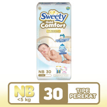 SWEETY Popok Gold Comfort - NB 30