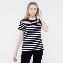 FBW Reiby Full Stripe Female T-shirt - Hitam