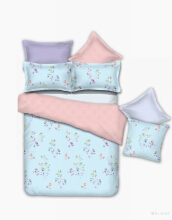 Graphix Regina Bed Sheet Set Pillow Case & Bolster Case