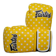 FAIRTEX Boxing Glove BGV14 YP - PolkaDotYellow