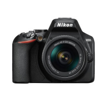 Nikon D3500 DSLR Camera AF-P 18-55mm Lens Black