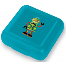 [free ongkir]Crocodile Creek Sandwich Keeper - Dark Green Robot