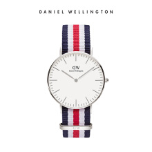 Daniel Wellington Classic Nato Watch Canterbury Eggshell White 36mm