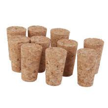REFURBISHHOUSE 10pcs Tapered Corks Stoppers DIY Craft Art Model Building 22*17*35mm