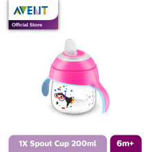 AVENT SCF751/00 Premium Spout Cup 7oz Single M - Pink