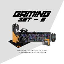 DIGITAL ALLIANCE Set 2 – Black Titan + Meca Master + G8 Revival + D4 Mousepad M + Meca Switch Pack
