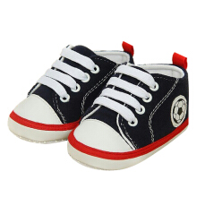 Saneoo Soccer Prewalker Baby Shoes Navy 6-12 Bln