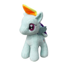 [COZIME] Cute Little Pony Horse Soft Doll Stuffed Plush Toy Kids Children's Day Gift Orange1  20cm
