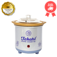 Takahi Slow Cooker Size 1.2 Color Blue