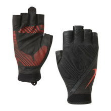 NIKE_ACCESNIKE Mens Havoc Training Gloves M Black/Anthracite - Black/Anthracite/Total Crimson [M] N.LG.B6.053.MD