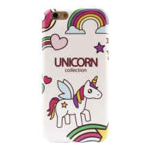 Paroparoshop - Soft Case Iphone 5/5S/6Plus/7Plus Collect Unicorn Case - Beige