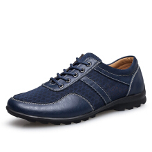 Zanzea US Size 6.5-11.5 Mesh Men Casual Leather Oxfords