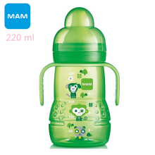 MAM Trainer Bottle 220 ml Purple (Free Teat and Spout)