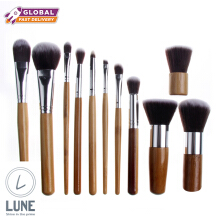 LUNE 1 Set Make Up Brush Bamboo Brush High Quality Soft Brush