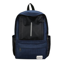 COZIME Large Capacity Men Women Backpack Waterproof Oxford Cloth Laptop Blue