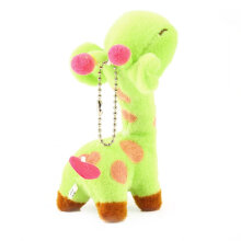 [kingstore] Lovely Cute Kids Child Giraffe Gift Soft Plush Toy Baby Stuffed Animal Doll Yellow