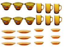 DURALEX Yellow sett 16 pcs