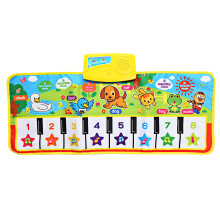 Famirosa Generic Baby Musical Animal Piano Play Mat Language Learning Toy  - Colormix