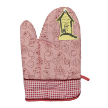 ARNOLD CARDEN Oven Mitts Snack Pattern Right Side - Pink 17x25cm