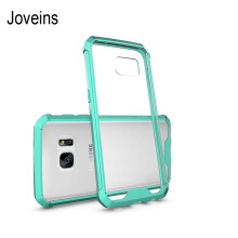 JOVEINS Samsung Galaxy S7 edge Phone Case Shock-Absorption Bumper Style Premium Hybrid Protective Clear Cover