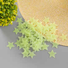 RADYSA Star Wall Sticker Bintang Glow in the Dark (set isi 100pcs) - Kuning Yellow All Size
