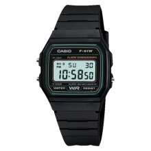 Casio General Quartz F-91W-3DG Digital Mens Watch [F-91W-3DG] - Black