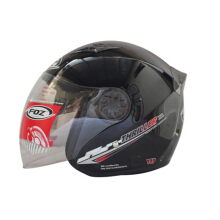 Helm Foz thriler solid black